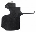 ANS BLACK GRIP FOR 9015/8002 ALUM STOCKS (LG-RIGHT) 008087