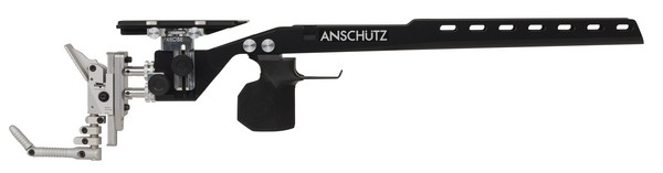 ANS 2018 ALUM PRECISE STOCK ONLY (BLACK)(MED GRIP)(RIGHT) 010836