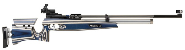 "ANS 9015 ""CLUB"" LAMINATED AIR RIFLE W/RUBBER BUTTPLATE(AMBI) 014235"