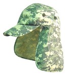 DIGITAL ARMY CAP W/ EAR & NECK FLAP 5920DA