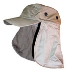 KHAKI CAP W/ EAR & NECK FLAP 5920K