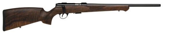 "ANS 1727F-U4 G-28 RIFLE 18"" THREADED HB .22LR & GERMAN STOCK A172722HBGX"