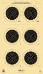 !DISC! KRUGER A-26 50m SMALLBORE PRONE TARGETS (100 Pack) A26K