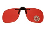 FLIP UP POLYCARBONATE LENSES - VERMILLION GFO2V