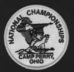 """NATIONAL CHAMPIONSHIPS PATCH(3-1/2"""") NCP312"""