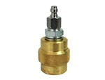 ADAPTOR FOR 200 DIN FEMALE TO CROSMAN QUICK-DISCONNECT PLUG Z2128300CC