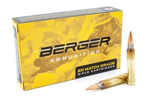 BERGER .223 REM 77gr OTM TACTICAL AMMO (20 rds) 23030