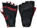 CC BLACK/RED FINGERLESS GLOVE W/EUR TOP GRIP RUBBER (XS-RHS) CC57XS