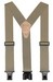 "!!DISC!! 2"" ""PERRY"" HOOK ON SUSPENDERS 48"" (TAN) SN200T"