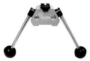 CENTRA RIFLE BIPOD WITH FOLDING LEGS 19930002