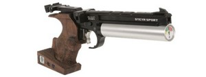 STEYR COMPACT FIVE SHOT SEMI-AUTO AIR PISTOL (MED - RIGHT) LP50C