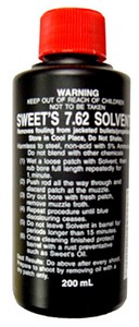 SWEET'S 7.62 BORE CLEANER SOLVENT (200 ML) SBC