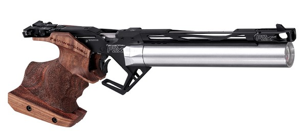 FWB P 8X WALNUT AIR PISTOL .177 (MEDIUM - LEFT GRIP) 34401