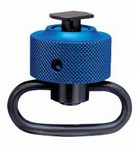 ANS 6226 HANDSTOP WITH SLING SWIVEL (DIA. 32mm)(BLUE) 62263