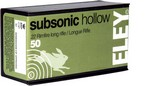 ELEY .22 LR SUBSONIC HOLLOW (50 rds) A05400