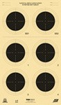 !DISC!KRUGER A-50 50m ISSF SMALLBORE RIFLE TARGETS (100 PACK A50K